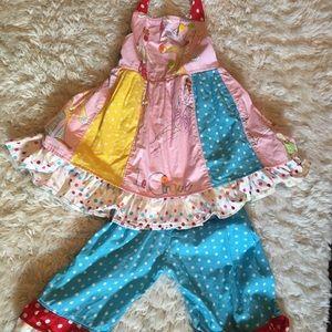 Custom sewn circus carnival 🎡 birthday outfit